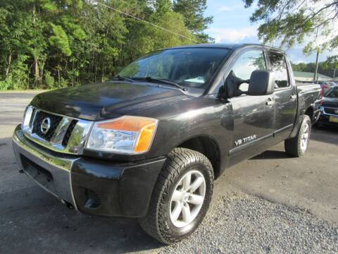2009 Nissan Titan for sale at Bullet Motors Charleston Area in Summerville SC