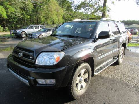 2003 Toyota 4Runner for sale at Bullet Motors Charleston Area in Summerville SC