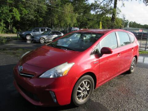 2012 Toyota Prius v for sale at Bullet Motors Charleston Area in Summerville SC