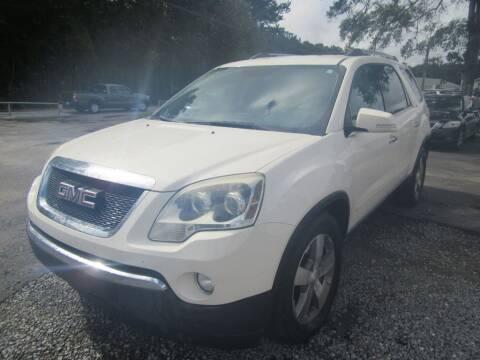 2011 GMC Acadia for sale at Bullet Motors Charleston Area in Summerville SC