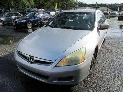 2007 Honda Accord for sale at Bullet Motors Charleston Area in Summerville SC