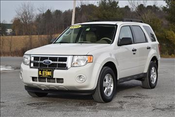 Used ford escape for sale vermont for G stone motors middlebury vermont