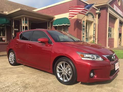 2013 Lexus CT 200h for sale in Tyler, TX