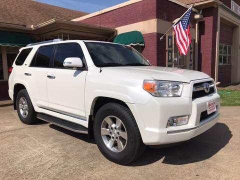 2012 Toyota 4Runner for sale at Firestation Auto Center in Tyler TX