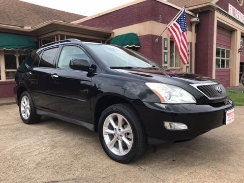 2008 Lexus RX 350 for sale at Firestation Auto Center in Tyler TX