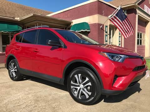 2017 Toyota RAV4 for sale at Firestation Auto Center in Tyler TX