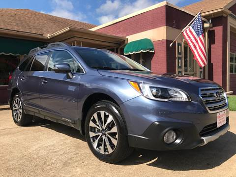 2017 Subaru Outback for sale at Firestation Auto Center in Tyler TX
