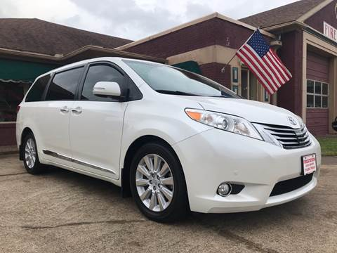 2013 Toyota Sienna for sale at Firestation Auto Center in Tyler TX