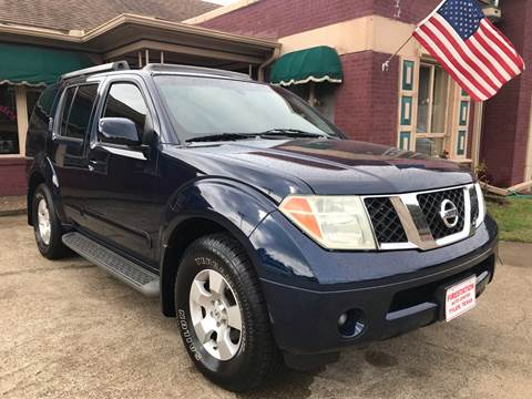 2006 Nissan Pathfinder for sale at Firestation Auto Center in Tyler TX