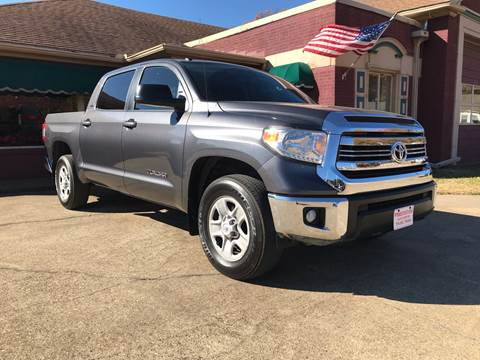 2017 Toyota Tundra for sale at Firestation Auto Center in Tyler TX