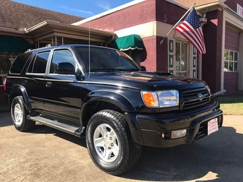 2000 Toyota 4Runner for sale at Firestation Auto Center in Tyler TX