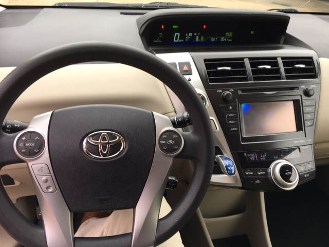 2012 Toyota Prius v Five 4dr Wagon - Tyler TX
