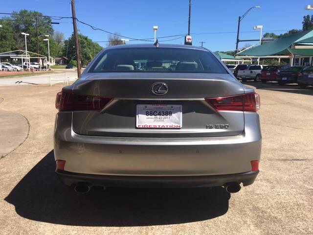 2014 Lexus IS 250 4dr Sedan - Tyler TX