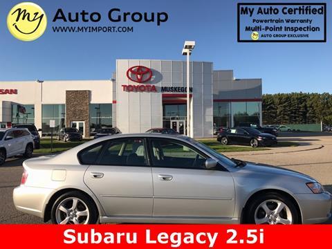 2006 Subaru Legacy for sale in Muskegon, MI