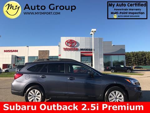 2016 Subaru Outback for sale in Muskegon, MI
