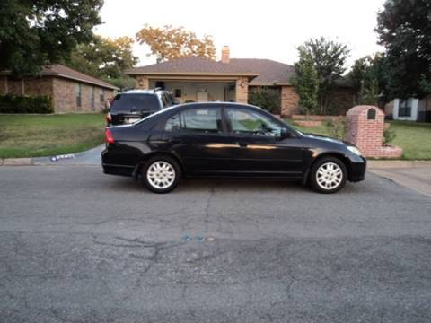 2004 Honda Civic for sale in Irving, TX