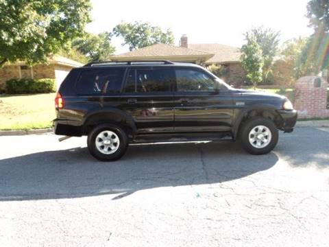 2003 Mitsubishi Montero Sport for sale in Irving, TX