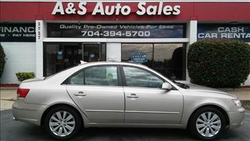 2010 Hyundai Sonata for sale in Charlotte, NC