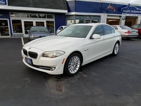 2011 BMW 5 Series for sale in Portsmouth, VA