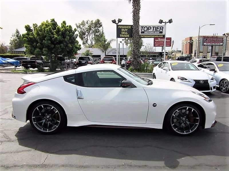 2016 Nissan 370z Nismo Tech 2dr Coupe 6m In San Jose Ca Top Tier