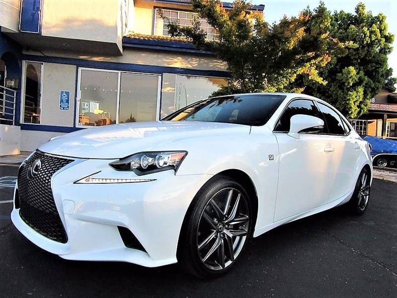 2015 Lexus IS 250 4dr Sedan - San Jose CA