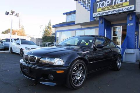 2004 BMW M3 for sale at Top Tier Motorcars in San Jose CA