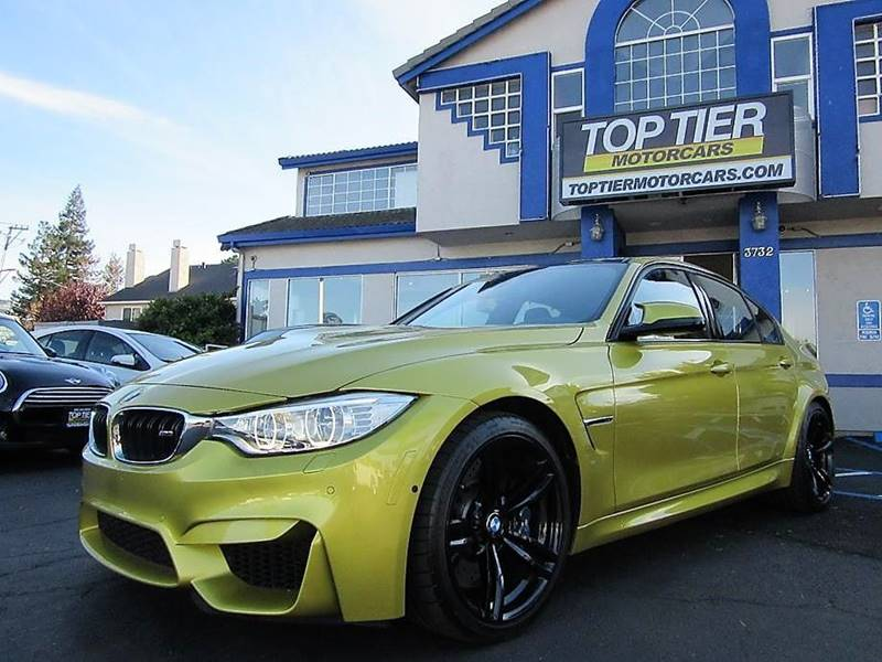 2015 BMW M3 for sale at Top Tier Motorcars in San Jose CA