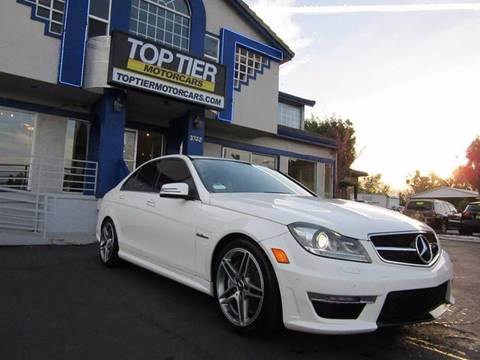 2013 Mercedes-Benz C-Class for sale at Top Tier Motorcars in San Jose CA