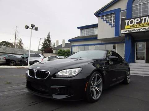 2013 BMW M6 for sale at Top Tier Motorcars in San Jose CA