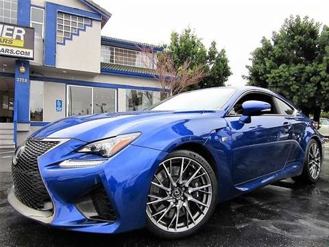 2015 Lexus RC F for sale at Top Tier Motorcars in San Jose CA