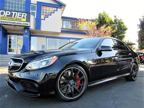 2015 Mercedes-Benz E-Class for sale at Top Tier Motorcars in San Jose CA