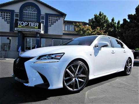 2016 Lexus GS 350 for sale at Top Tier Motorcars in San Jose CA