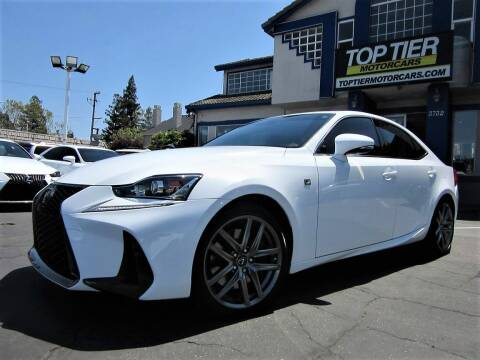 2017 Lexus IS 200t for sale at Top Tier Motorcars in San Jose CA