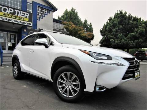 2017 Lexus NX 200t for sale at Top Tier Motorcars in San Jose CA