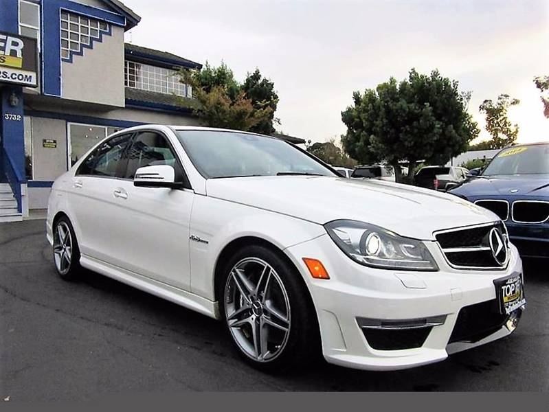 2013 Mercedes-Benz C-Class C63 AMG 4dr Sedan In San Jose ...