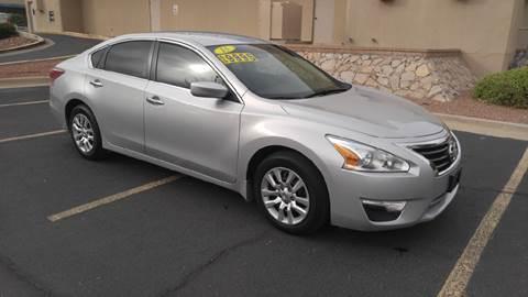 2015 Nissan Altima For Sale In El Paso Tx Carsforsale Com