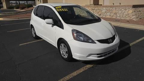 2012 Honda Fit for sale at AUTO TEAM in El Paso TX