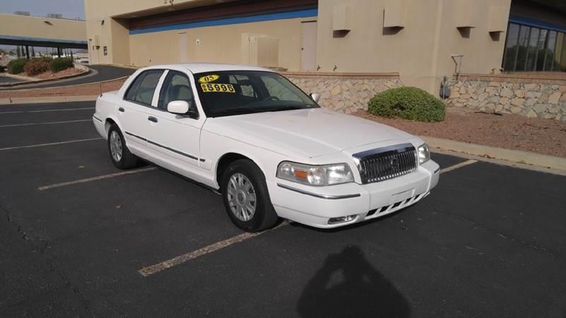2005 Mercury Grand Marquis for sale at AUTO TEAM in El Paso TX