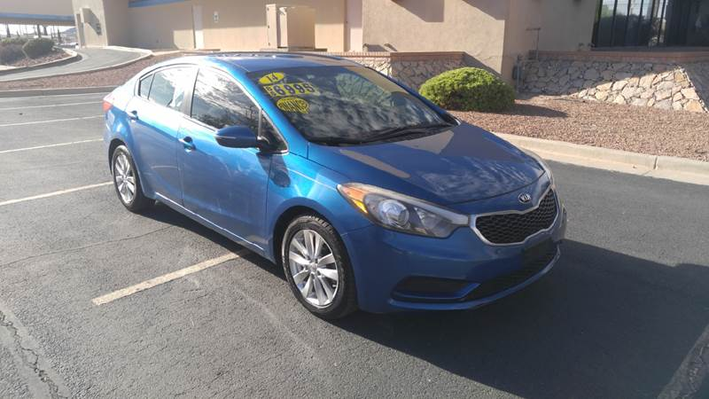 2014 Kia Forte For Sale At AUTO TEAM In El Paso TX