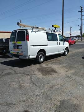 2000 Chevrolet Express Cargo for sale in El Paso, TX