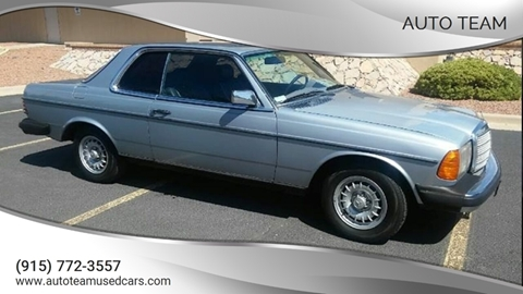 1984 Mercedes-Benz 300-Class for sale in El Paso, TX