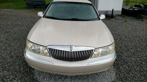 2001 Lincoln Continental for sale in Moulton, AL