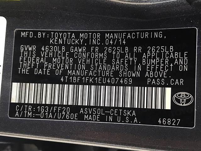 2014 Toyota Camry SE Sport 4dr Sedan - Houston TX