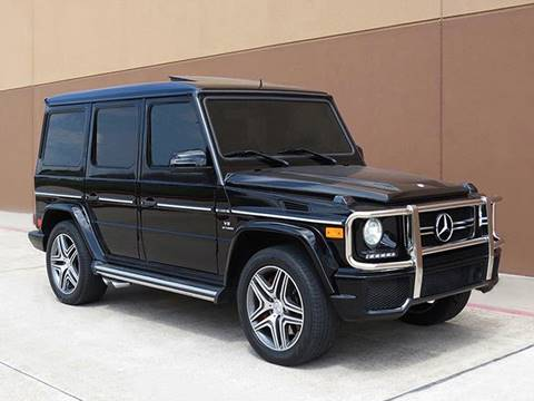 2013 Mercedes-Benz G-Class for sale in Houston, TX