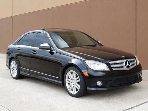 2008 Mercedes-Benz C-Class for sale in Houston, TX