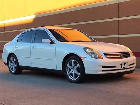2003 Infiniti G35 for sale in Houston, TX