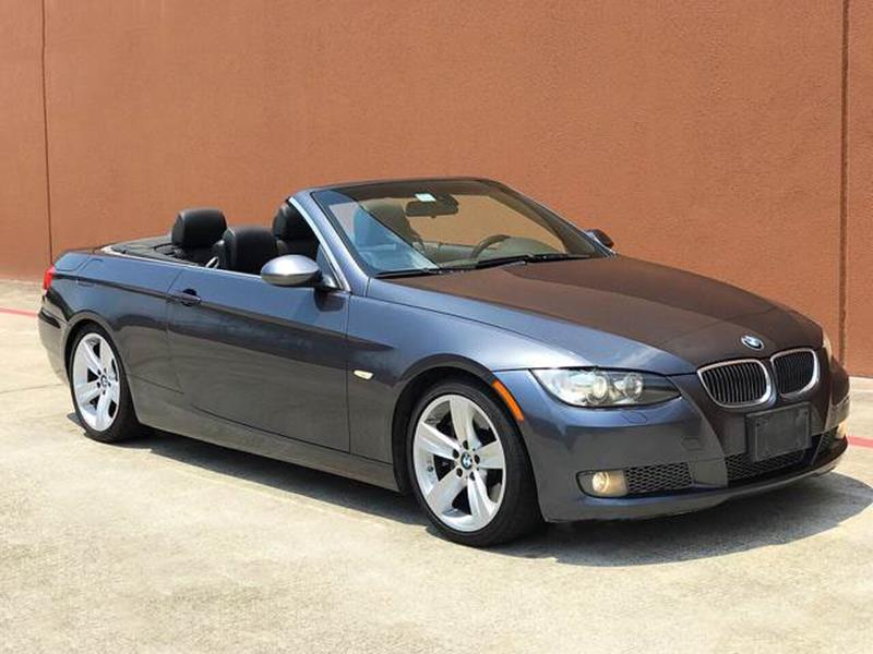 Bmw Series I Dr Convertible In Houston TX TX Auto Group - 2008 bmw 3 series 335i convertible