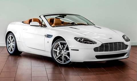 2008 Aston Martin V8 Vantage for sale at TX Auto Group in Houston TX