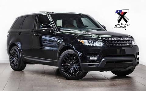 2014 Land Rover Range Rover Sport for sale at TX Auto Group in Houston TX