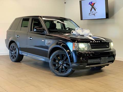 2012 Land Rover Range Rover Sport for sale at TX Auto Group in Houston TX